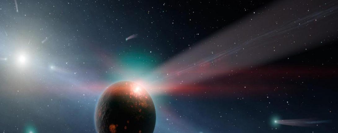 Звездные потоки могут полностью уничтожить Землю