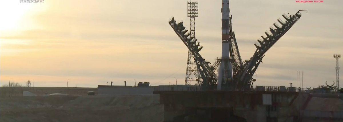 «Союз МС-11» с экипжем летит к МКС — видео успешного пуска ракеты «Союз-ФГ»