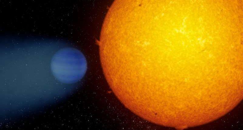 Астрономы обнаружили у планеты хвост из гелия