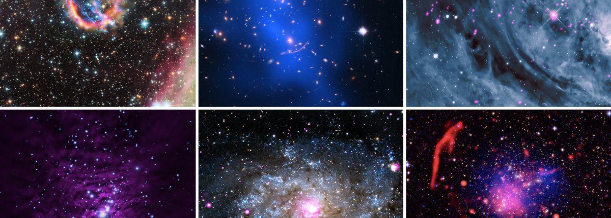 Космический телескоп Chandra и не только — праздничная подборка от NASA