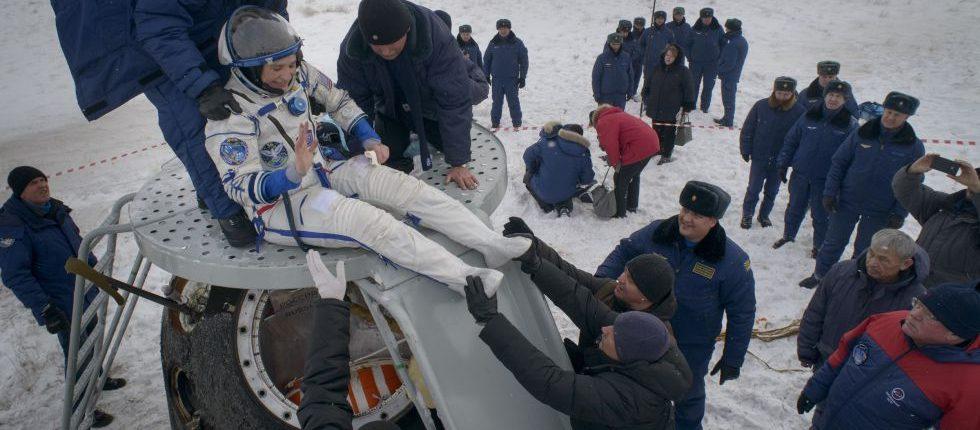 Экипаж «Союз МС-09» успешно вернулся Землю