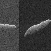 Астероид-бегемот пролетел мимо нашей планеты