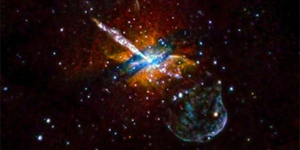 Обнаружена аномальная вспышка в открытом космосе