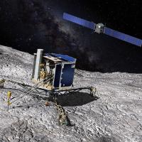 Зонд Rosetta несколько раз пролетел через ударную волну кометы 67Р