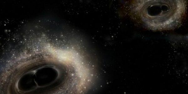Зафиксировано самое крупное столкновение черных дыр