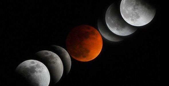 Почему солнечное затмение всегда идет перед лунным?