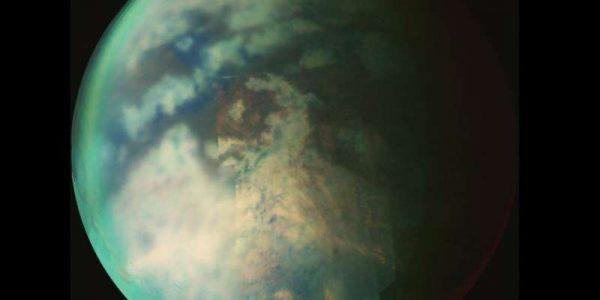 На северном полюсе Титана сезон метановых дождей