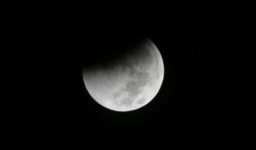 В воскресенье ожидается полное лунное затмение