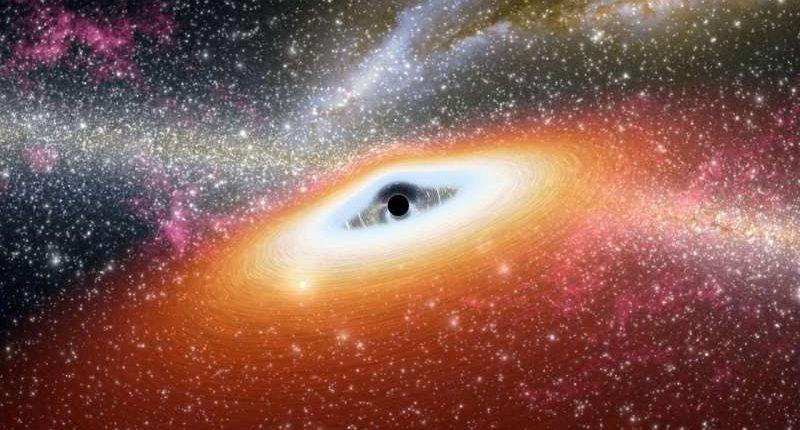 Астрономы впервые зафиксировали факт внезапного роста черной дыры