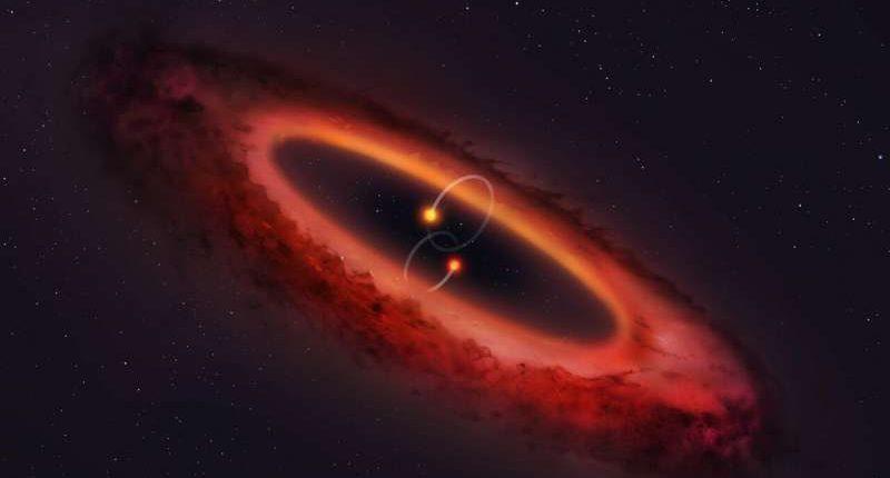 Найдена самая необычная двойная звездная система
