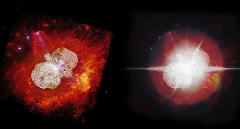 В 2036 году звезда Эта Киля может стать самым ярким объектом на небе