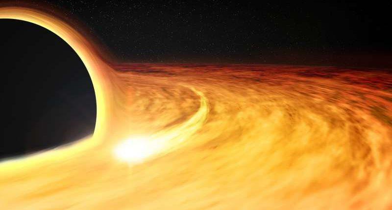 Астрономы обнаружили странный сигнал возле черной дыры нашей Галактики