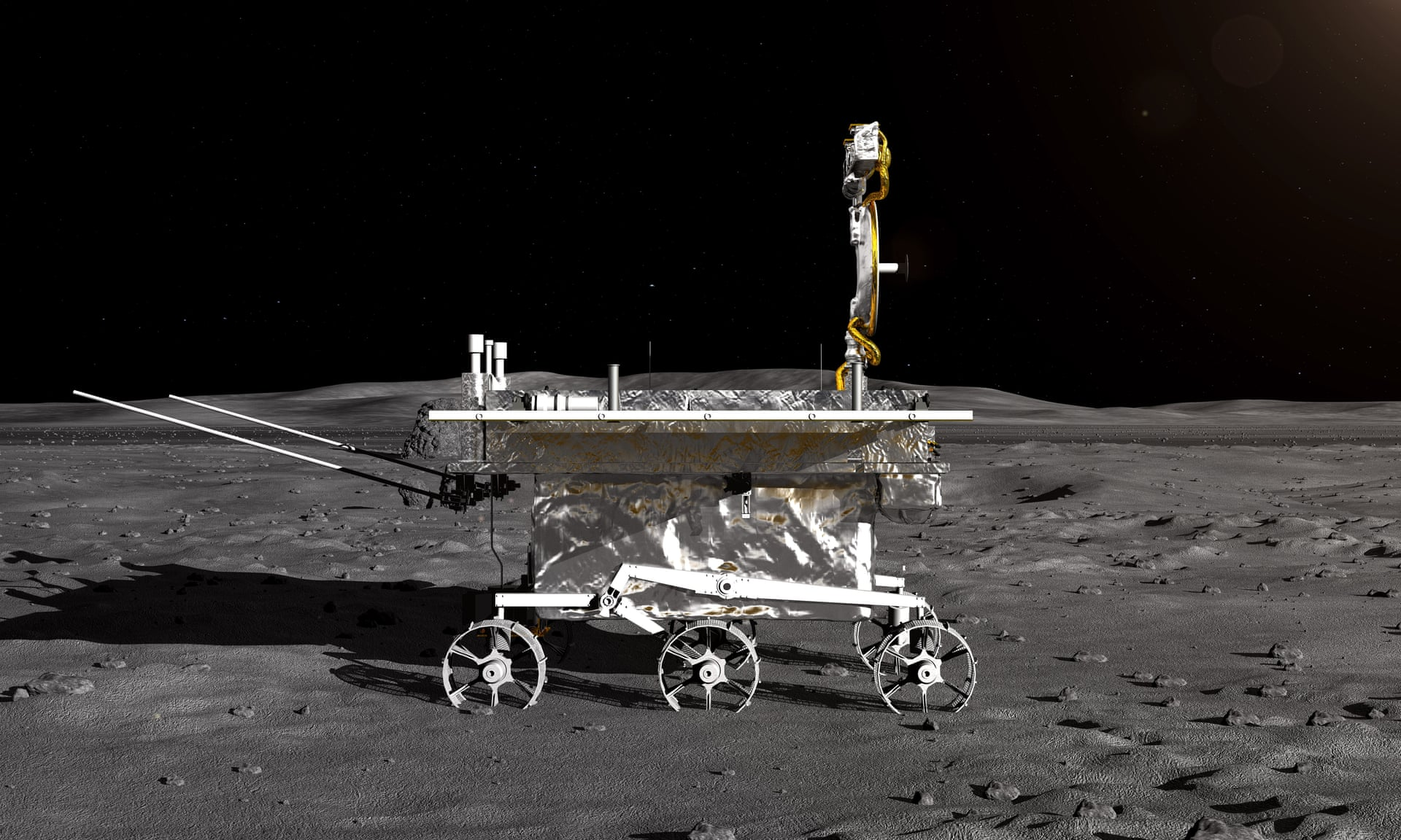 chinese moon rover - HD1440×810