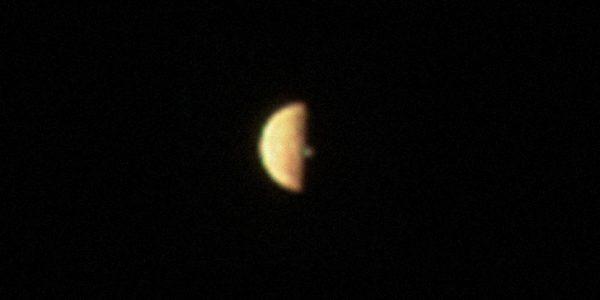 Juno сфотографировал извергающийся вулкан на Ио