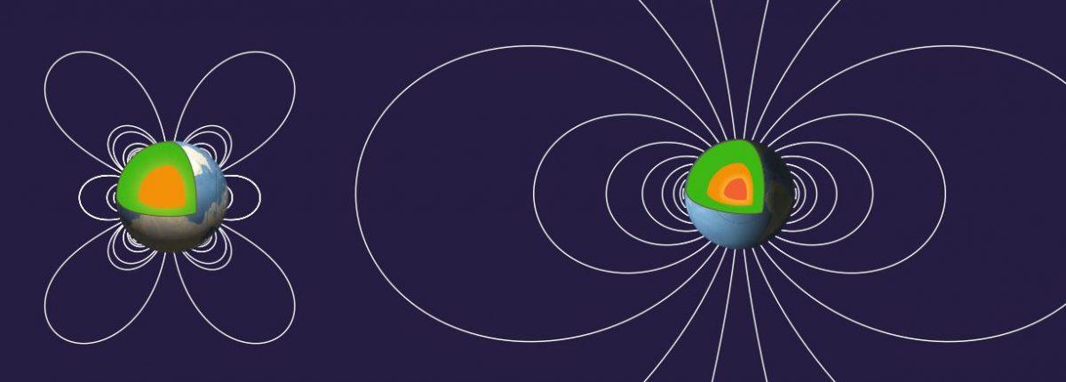 Магнитное поле Земли было на грани исчезновения