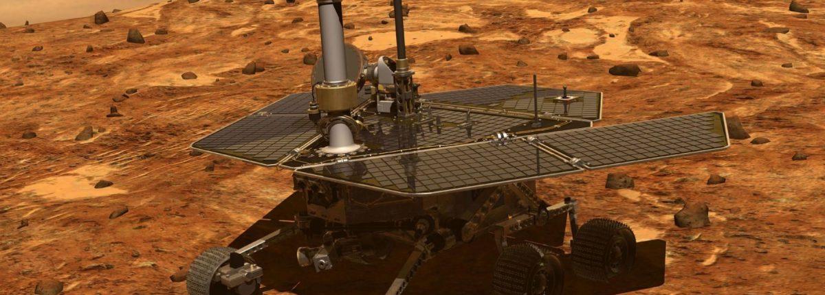 НАСА: Марсоход Mars Opportunity уничтожен пылевой бурей