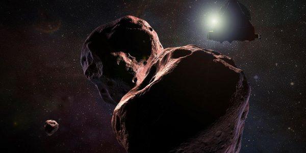 Новое фото обнажило шрамы и ямы на поверхности астероида Ультима Туле