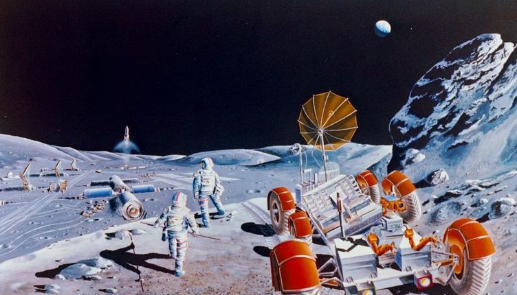 Почва Луны станет источником воды и топлива для различных космических миссий