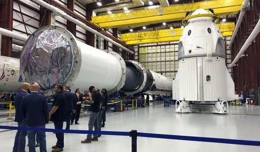 NASA и SpaceX планируют отправить первый «пилотируемый» корабль уже в марте