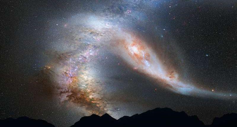 Астрономы впервые обнаружили скопление материала возле взрывающейся звезды