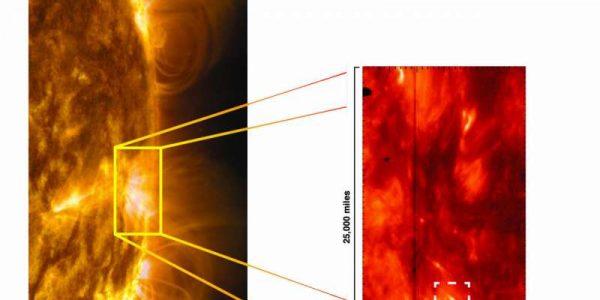 Спектрограф NASA случайно обнаружил загадочные объекты на Солнце