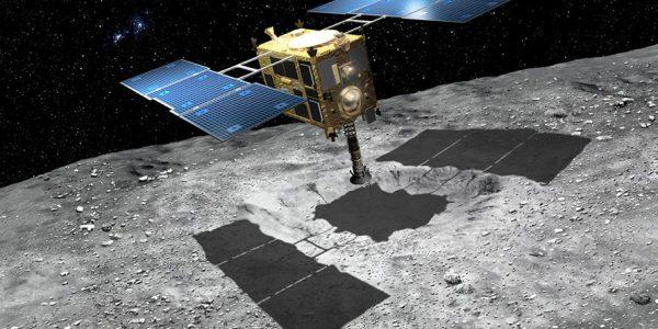В пятницу утром Hayabusa2 совершит посадку на астероид