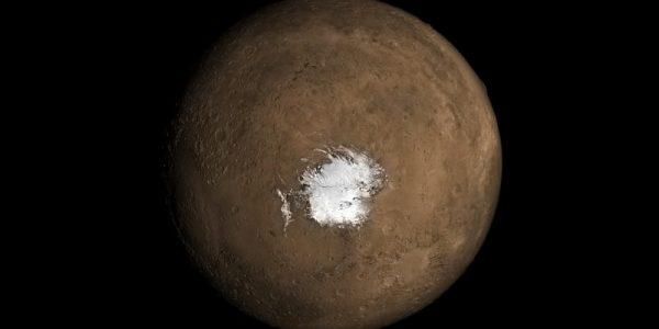Вулканическая активность под поверхностью Марса?