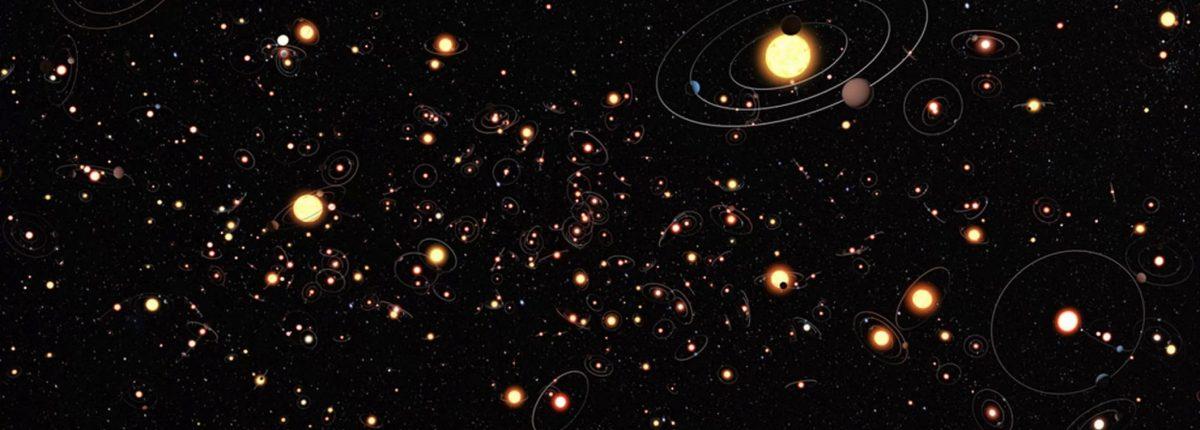 В планетной системе зафиксированы признаки гигантского столкновения