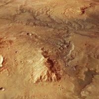 Иссохшая долина реки на Марсе выглядит неотличимо от Земной