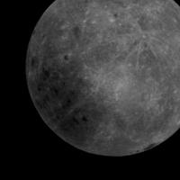 Удивительный космический снимок показывает далекую Землю за обратной стороной Луны