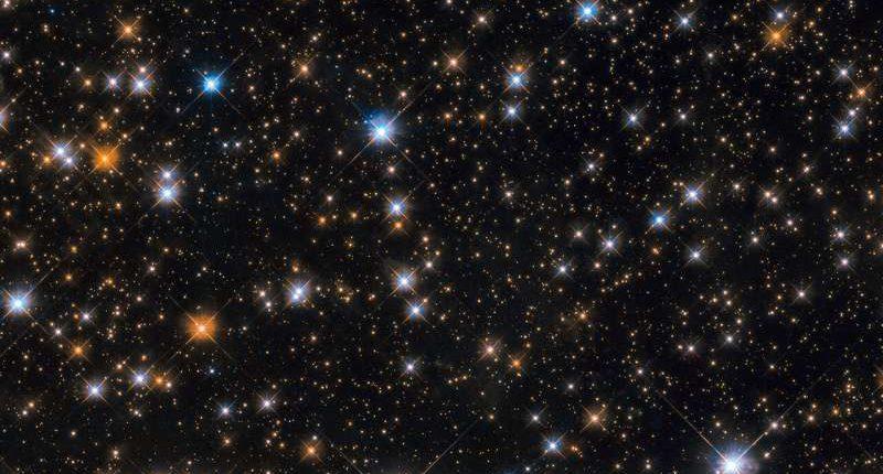 Телескоп «Хаббл» запечатлел стаю «космических уток»