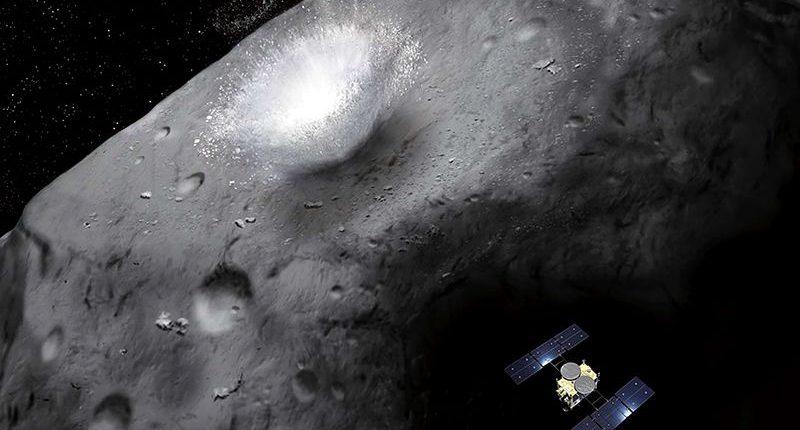 Японский корабль Hayabusa2 сбросит бомбу на астероид