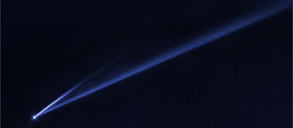 Телескоп NASA заметил в космосе вращающийся с бешеной скоростью объект