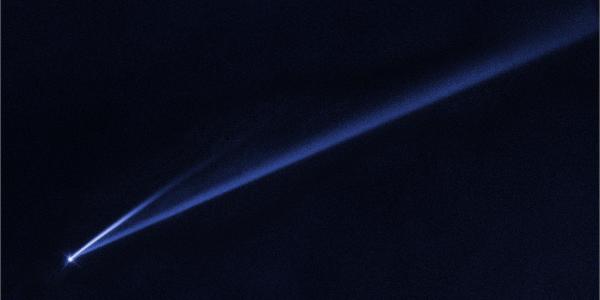 Космический телескоп «Хаббл» наблюдает за распадающимся астероидом