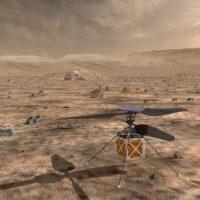Мини-вертолёт Марс открывает новые горизонты в исследовании планет1