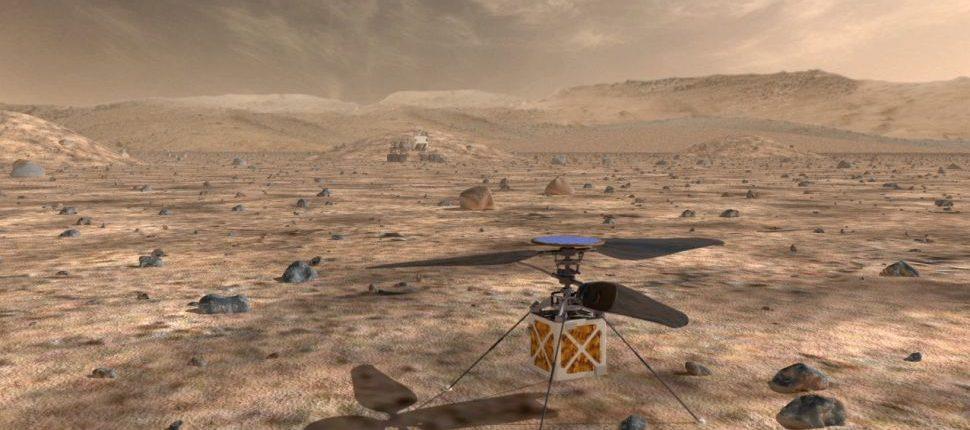 Мини-вертолёт Марс открывает новые горизонты в исследовании планет