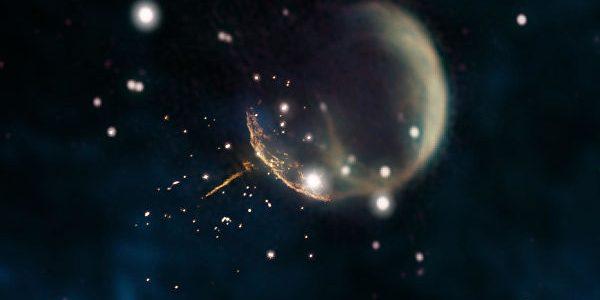 В НАСА открыли звезду, мчащуюся с огромной скоростью