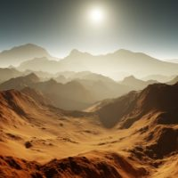 На Марсе зародили жизнь астероиды и водород