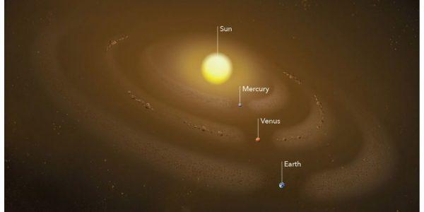 Кольцо пыли обнаружено на орбите Меркурия