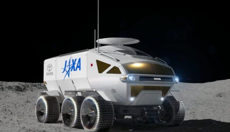 Toyota разрабатывает лунный вездеход