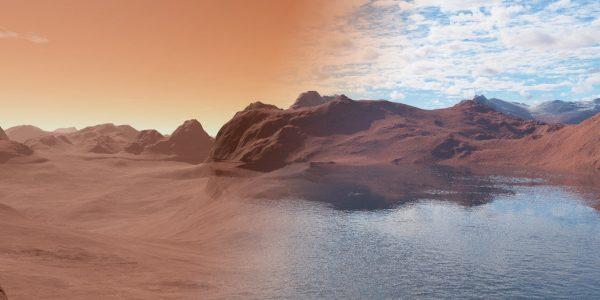 На Марсе текли реки на протяжении миллиардов лет