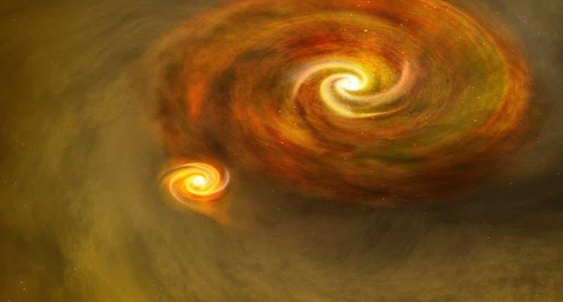 Звёзды прижались друг к другу как никогда – астрономы наблюдают такое впервые