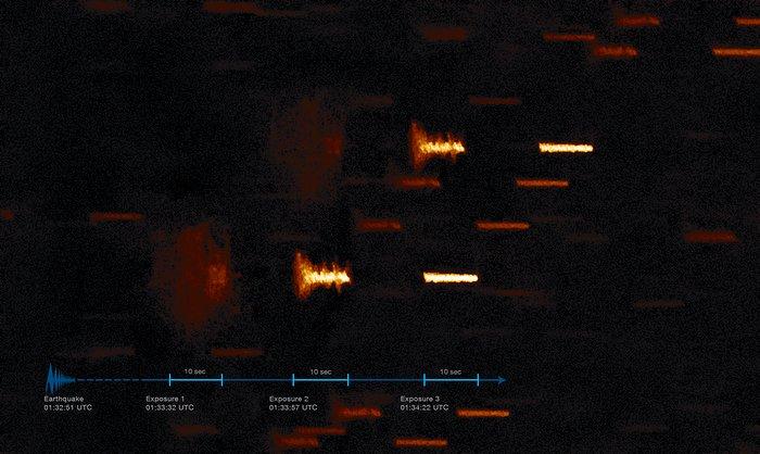 Уникальный кадр: обсерватория ESO зафиксировала землетрясение в Чили