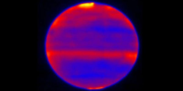 Новое наблюдение: солнечный ветер пронизывает атмосферу Юпитера