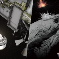 Первые снимки поверхности астероида после бомбардировки JAXA