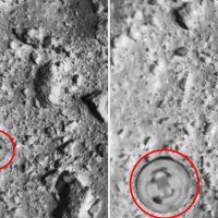 Япония опубликовала видео сброса бомбы на астероид