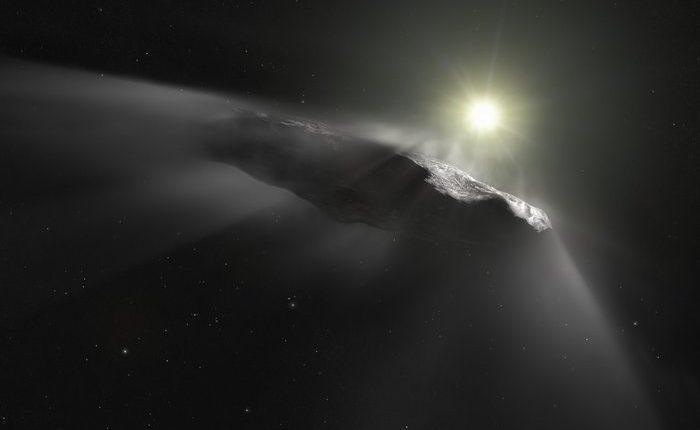На Землю падал межзвёздный объект