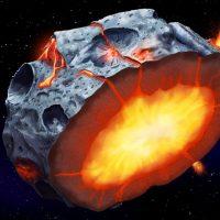 На поверхности астероидов могли быть вулканы
