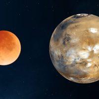 Вот как выглядит солнечное затмение на Марсе