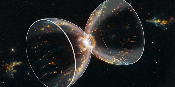 Особенный снимок телескопа «Хаббл» заставит вас чувствовать себя пылинками